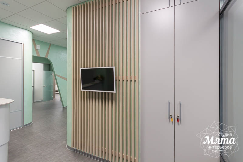 Дизайн интерьера и ремонт стоматологической клиники в ЖК Лига Чемпионов 5