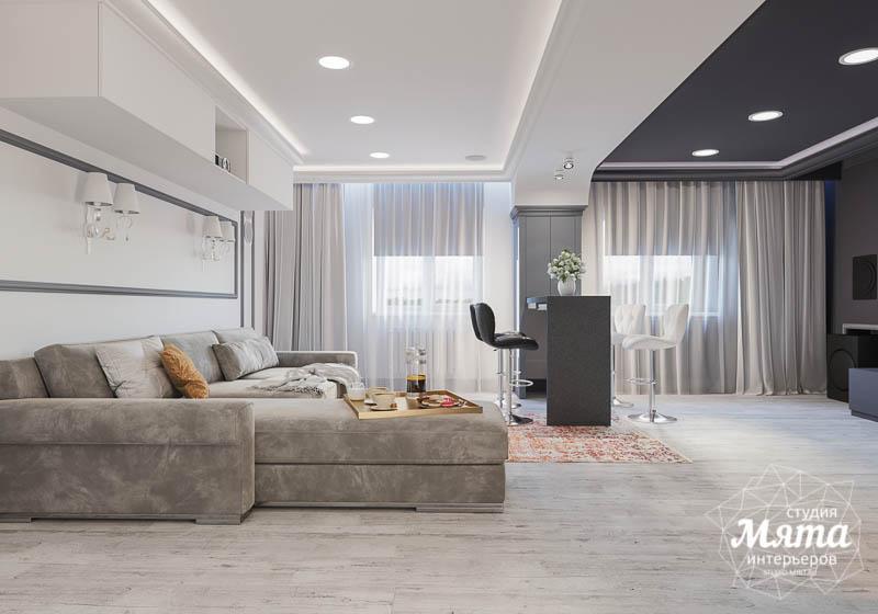 Дизайн интерьера домашнего кинотеатра в коттедже п. Кашино img51814134