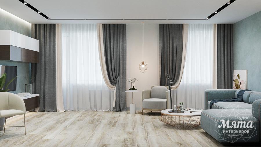 Дизайн интерьера трехкомнатной квартиры в современном стиле, ул. Репина 17а img268163364