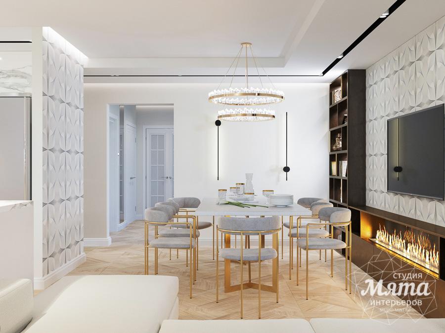Дизайн интерьера трехкомнатной квартиры в современном стиле, ул. Репина 17а img970582454