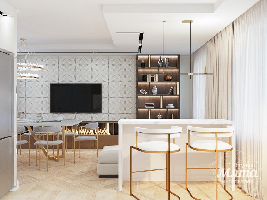 Дизайн интерьера трехкомнатной квартиры в современном стиле, ул. Репина 17а img343458947