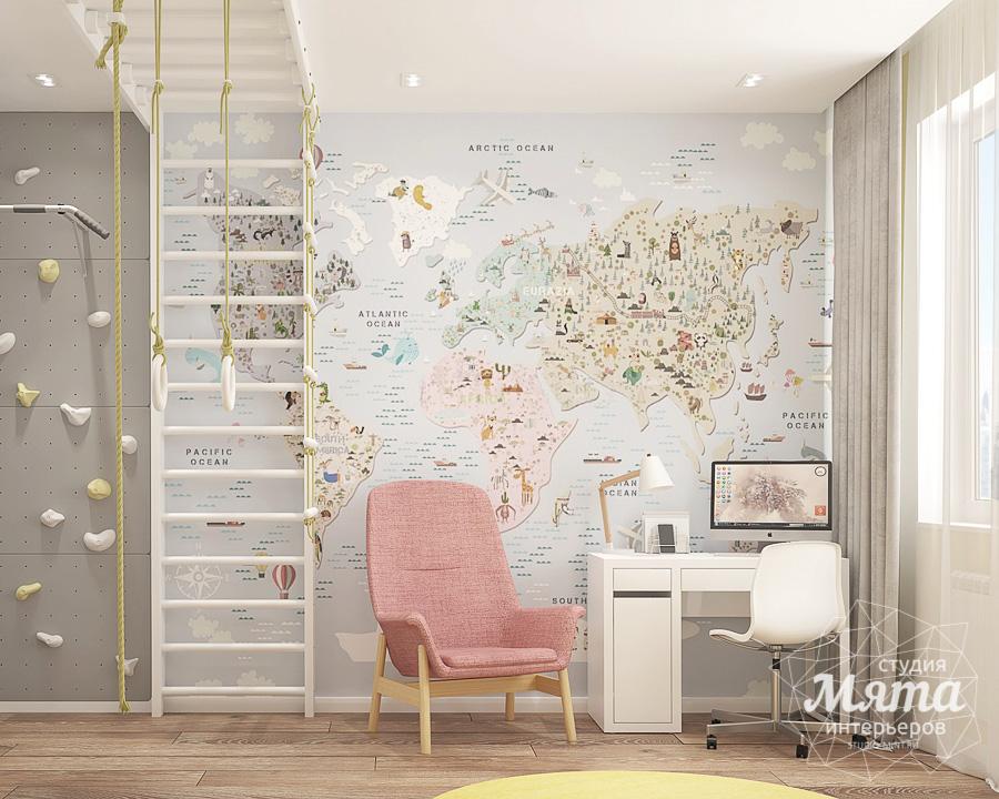 Дизайн интерьера трехкомнатной квартиры ЖК Клевер Парк img1551818592