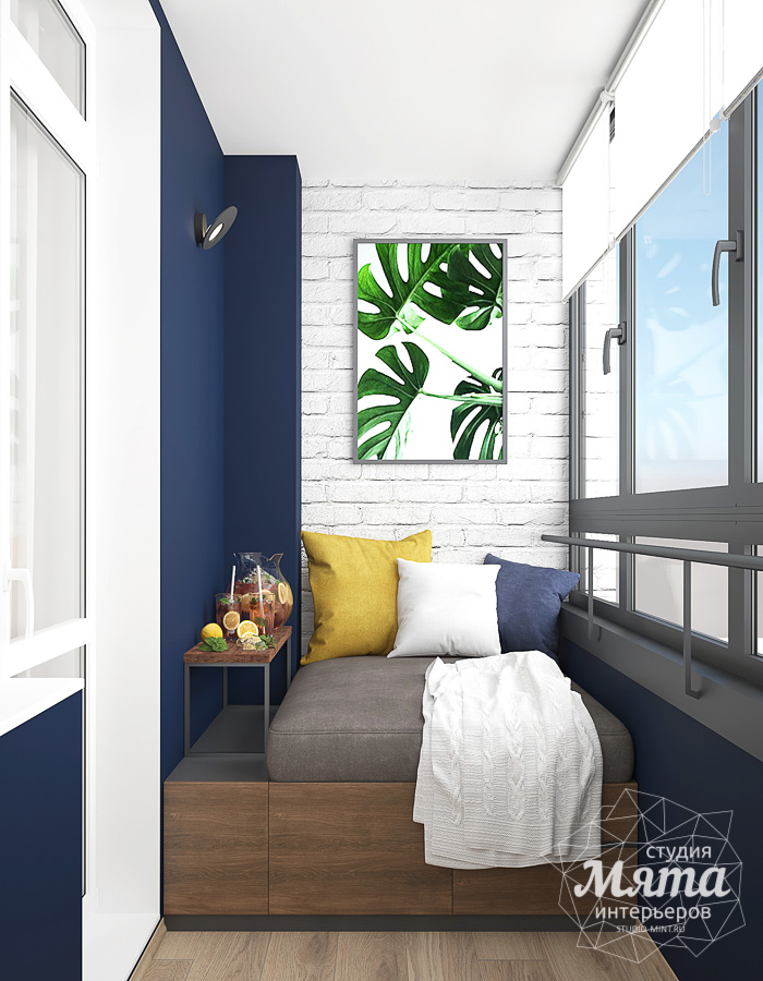 Дизайн интерьера трехкомнатной квартиры ЖК Близкий img1529428612