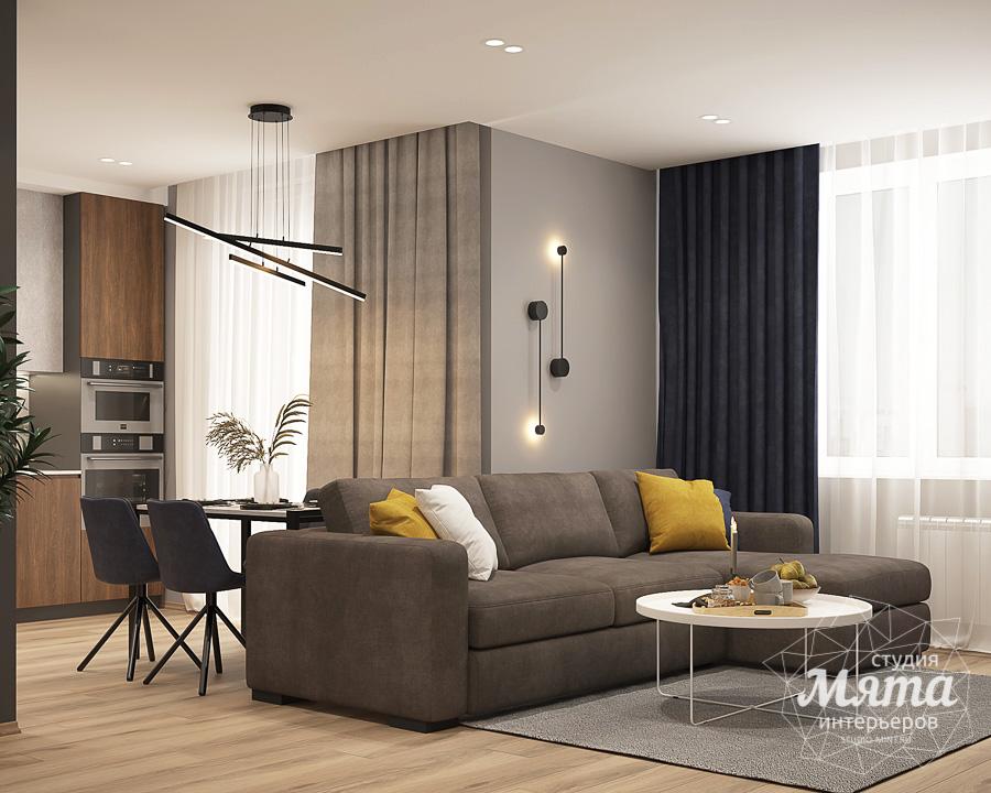 Дизайн интерьера трехкомнатной квартиры ЖК Близкий img78765619