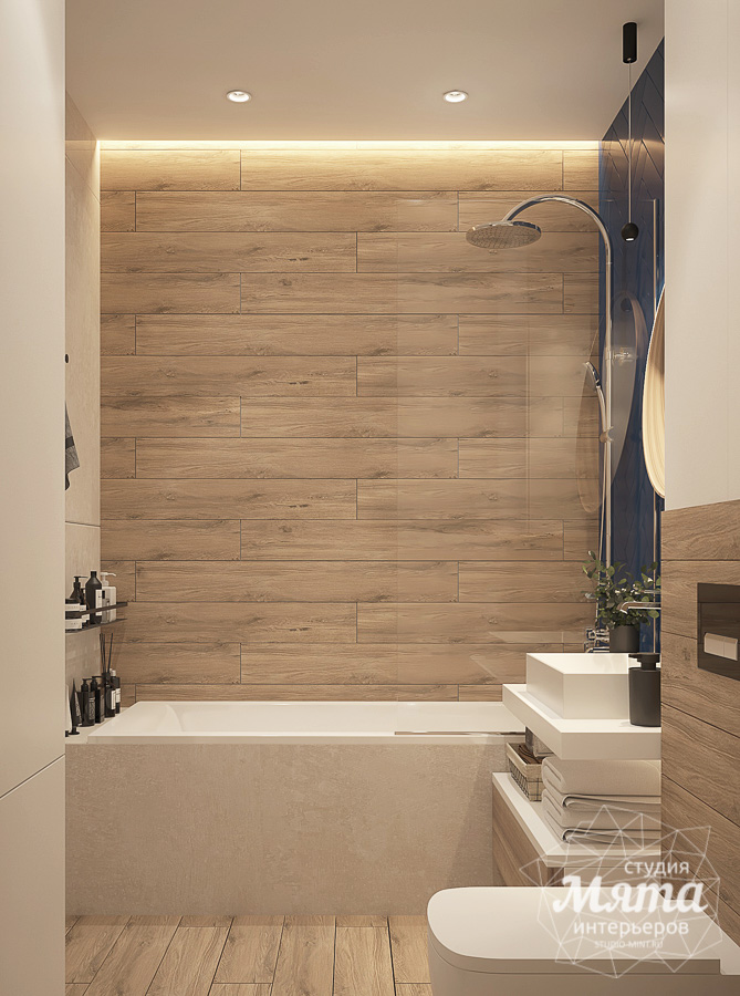 Дизайн интерьера трехкомнатной квартиры ЖК Близкий img102434259