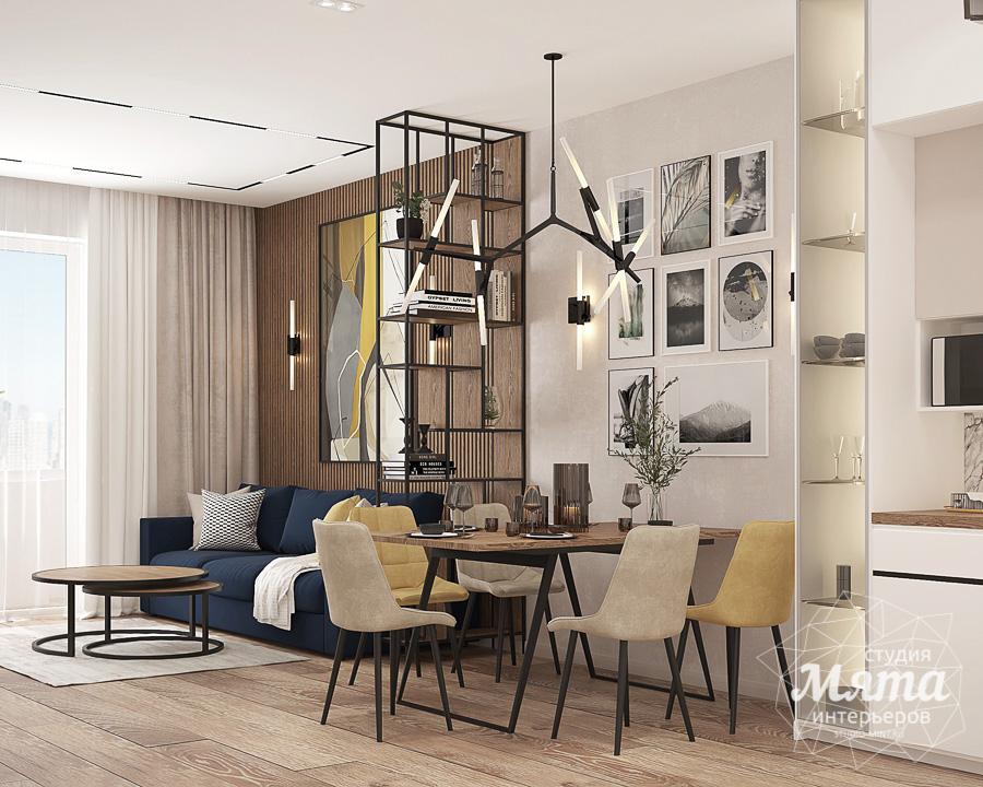 Дизайн интерьера трехкомнатной квартиры ЖК Клевер Парк img1725271991