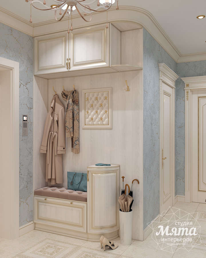 Дизайн интерьера двухкомнатной квартиры ЖК Ольховский парк img544529769