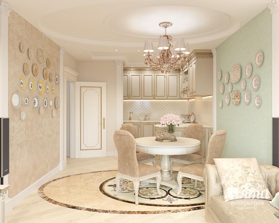 Дизайн интерьера двухкомнатной квартиры ЖК Ольховский парк img887701918