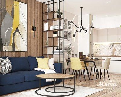 Дизайн интерьера трехкомнатной квартиры ЖК Клевер Парк img23551619