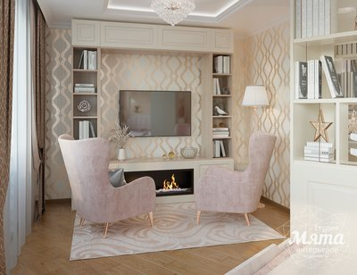 Дизайн интерьера однокомнатной квартиры ЖК Рощинский img1281928911