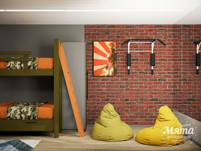 Дизайн интерьера однокомнатной квартиры ЖК Вернисаж img1180714968