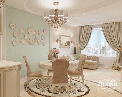 Дизайн интерьера двухкомнатной квартиры ЖК Ольховский парк img581541740