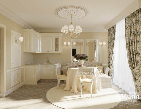 Дизайн интерьера квартиры - студии в ЖК Свой Круг