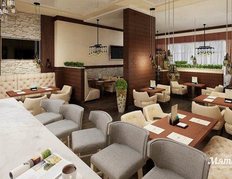 Дизайн интерьера кафе по ул. Малышева 12